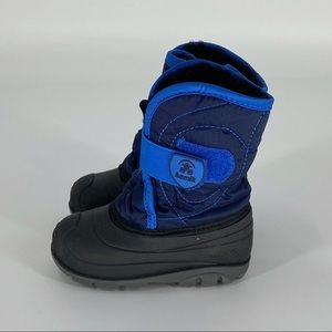 KAMIK Winter Snow Boots Baby Toddler Size 8 Blue